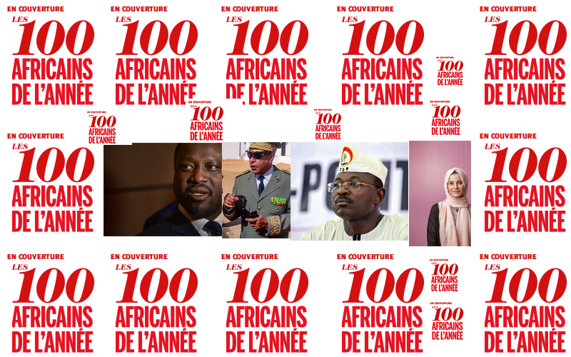 Les 100 Africains de l'année