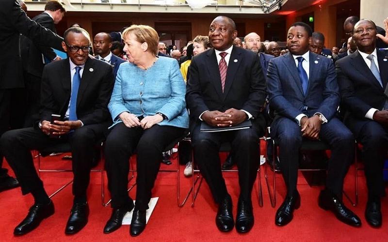Angela Merkel : «L'Afrique est une chance…»