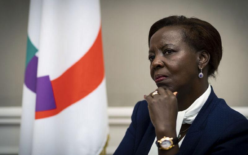 Louise Mushikiwabo (Francophonie) demande une transition menée par des civils