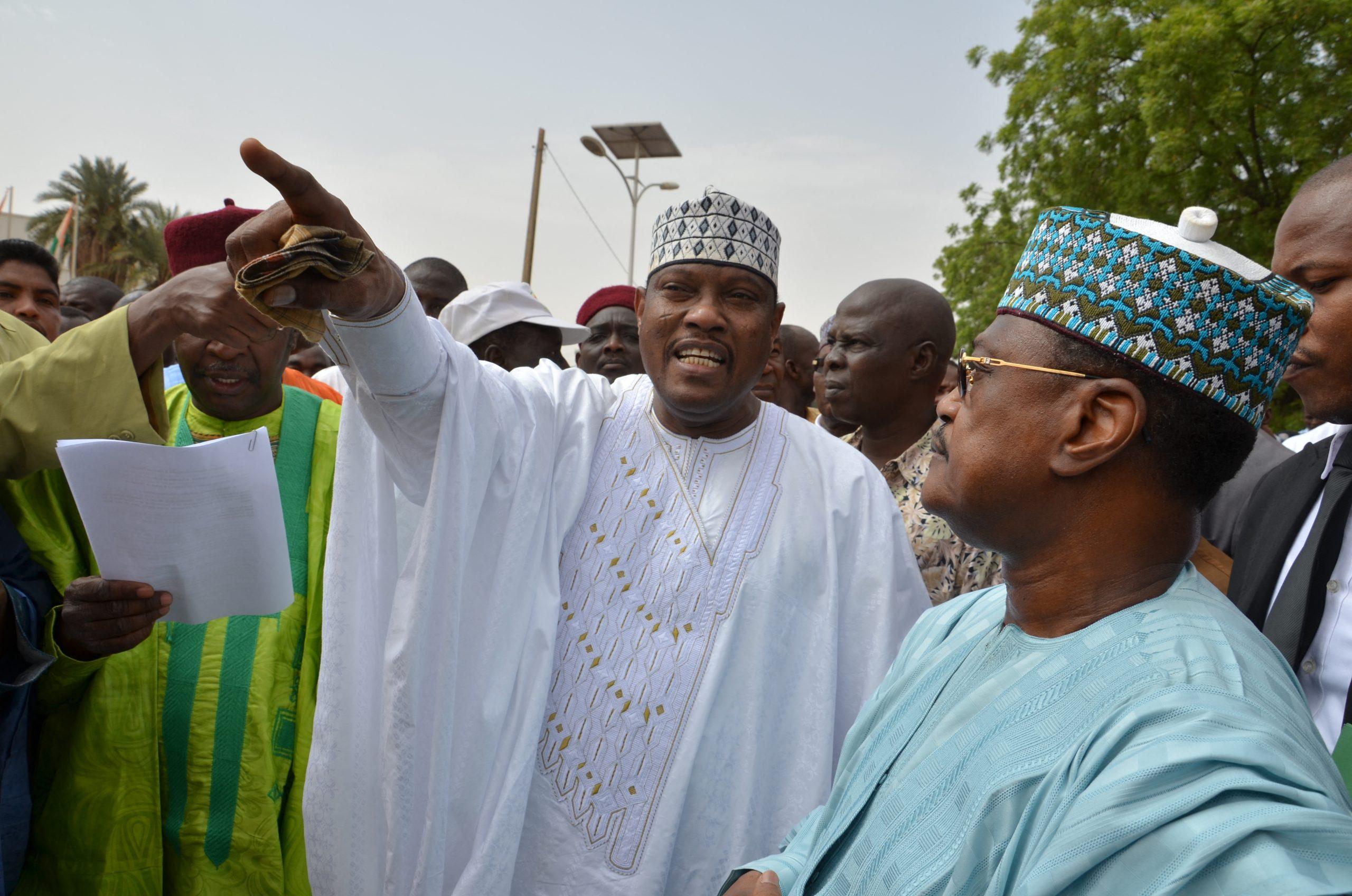 Niger: Mahamane Ousmane, ex-chef d'Etat rejette les résultats de la présidentielle