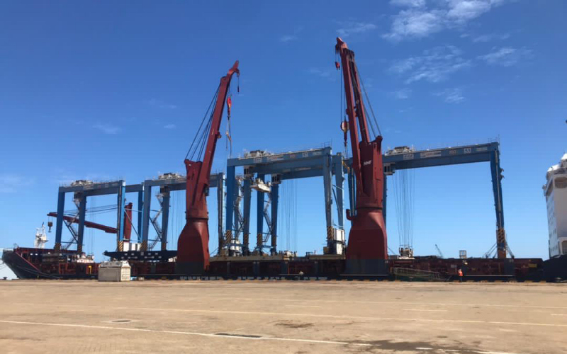 Le port de Kribi poursuit sa modernisation