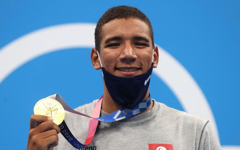 Jeux Olympiques :Ahmed Hafnaoui, un nageur tunisien en or